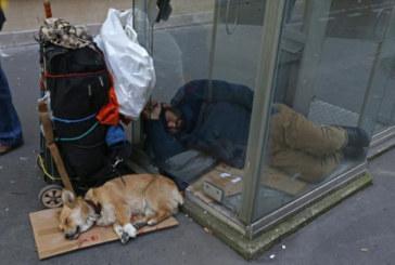 Les sans domicile ont augmenté de 50% en France depuis 2001