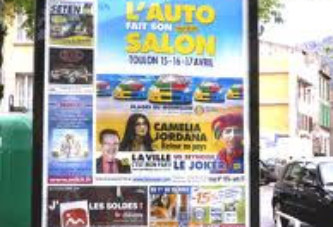 Espace publicitaire dans la ville de Ougadougou : la mairie déterminera désormais les lieux
