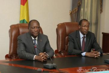 Ouattara de retour, Compaoré arrive à Abidjan