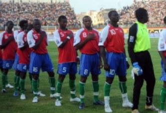 La Gambie suspendue des compétitions de la CAF pour deux ans