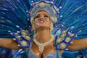 Photos exquises et hautement colorées du carnaval de Rio. Regardez