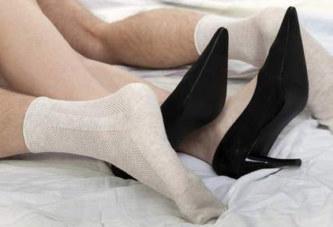 Porter des chaussettes au lit booste la libido
