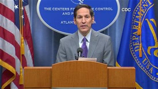 Le directeur du Centre américain de contrôle des maladies, Tom Frieden