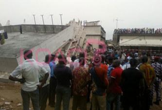 Côte d'Ivoire : Un immeuble de 4 étages s'écroule sur ses habitants