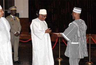 Ambassade du Burkina au Mali:   Le général Kodio Lougué prend officiellement service