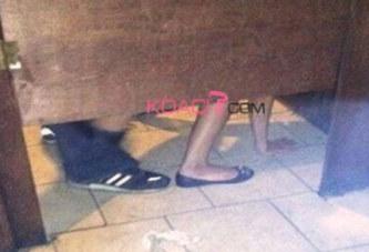 Nigeria : Une célébrité surprise en pleins ébats dans les toilettes