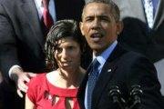 Vidéo:Barack Obama porte secours à une jeune femme victime d'un malaise pendant son discours