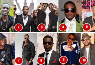 La liste des 10 artistes africains les plus riches de la musique urbaine selon Forbes africa
