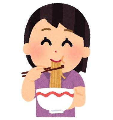 Food ramen woman 20200405