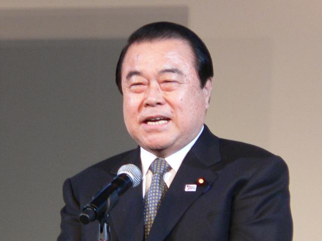 冬柴大氏(故・冬柴鉄三元国土交通相の次男)