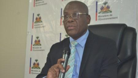Haïti – Climat : « Ne pas agir contre le changement climatique coûterait cher à Haïti » s'alarme le ministre de l'environnement.