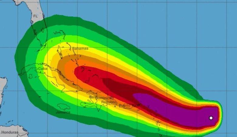 Tempête tropicale Dorian