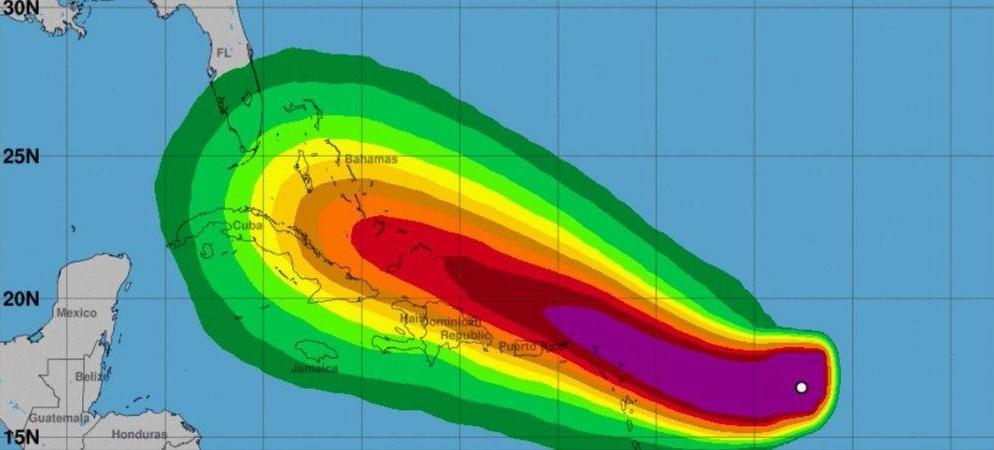 L'ouragan Dorian est passé de catégorie 5, et a touché terre dans le nord-ouest des Bahamas