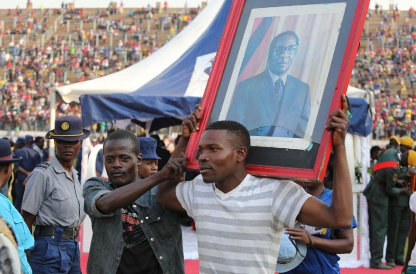 Le Zimbabwe s'installe pour enterrer le héros de Mugabe
