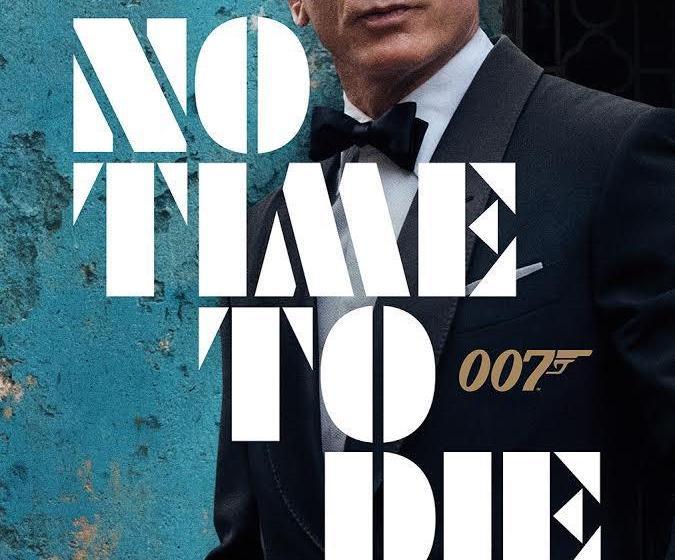 L' Affiche pour James Bond 25: «Pas le temps de mourir» a été révélée