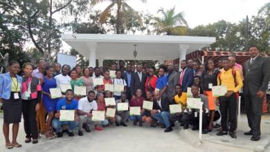 Photo of Haïti-Francophonie : Cérémonie de clôture de deux ateliers de formation organisés du 3 au 13 décembre 2019 par OIF et LAPTY