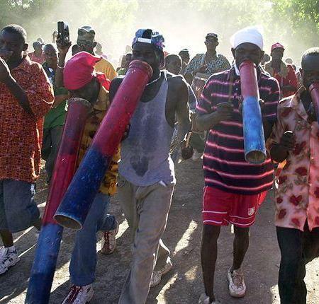 A Chansolme dans le Nord'Ouest  affrontement entre 2 bandes de rara fait 1 mort et un  plusieurs blessés