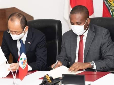 Haiti-Actualites: Le gouvernement Japonais signe un contrat avec le gouvernement Haïtien pour lutter contre la faim en Haïti