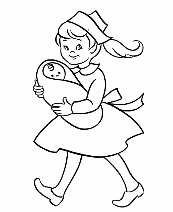 Day Care Facility Sketch Sketch Coloring Page