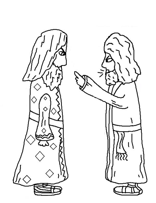 Paul and Elymas the Sorcerer Acts in Jacob and Esau