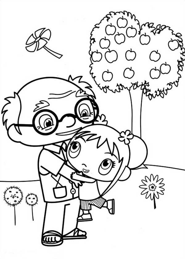 Mr Mcgee Coloring Pages.Ausmalbild: Charlie Bucket