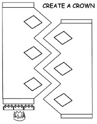 Create Your Own Crown Coloring Pages - NetArt