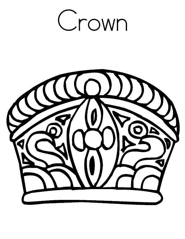 crown coloring pages # 68