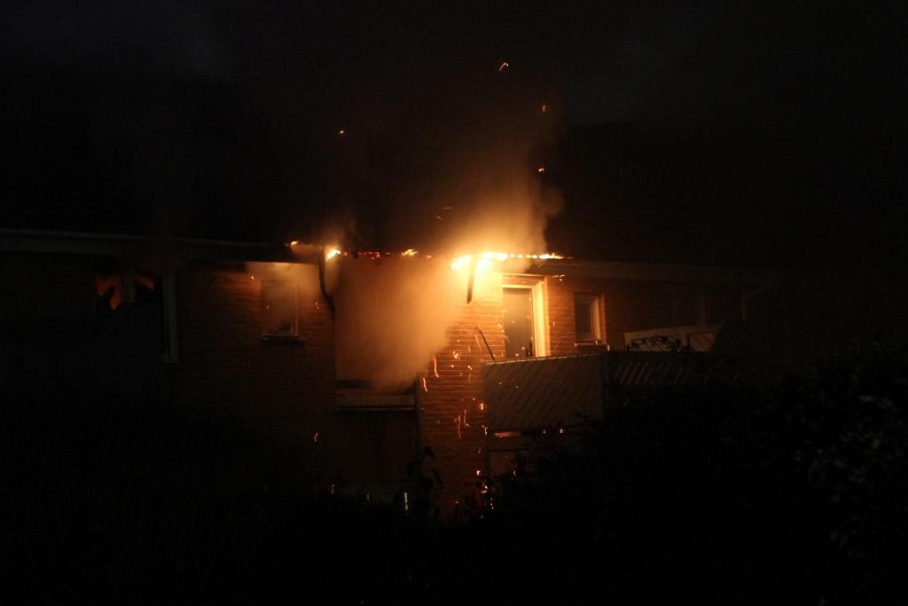 Brand i lejlighed