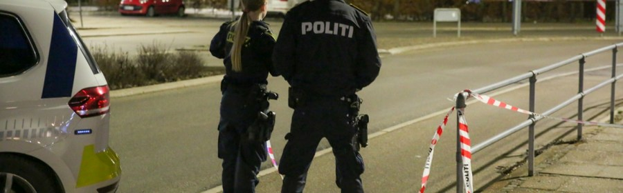 Politi ved Holbæk Station