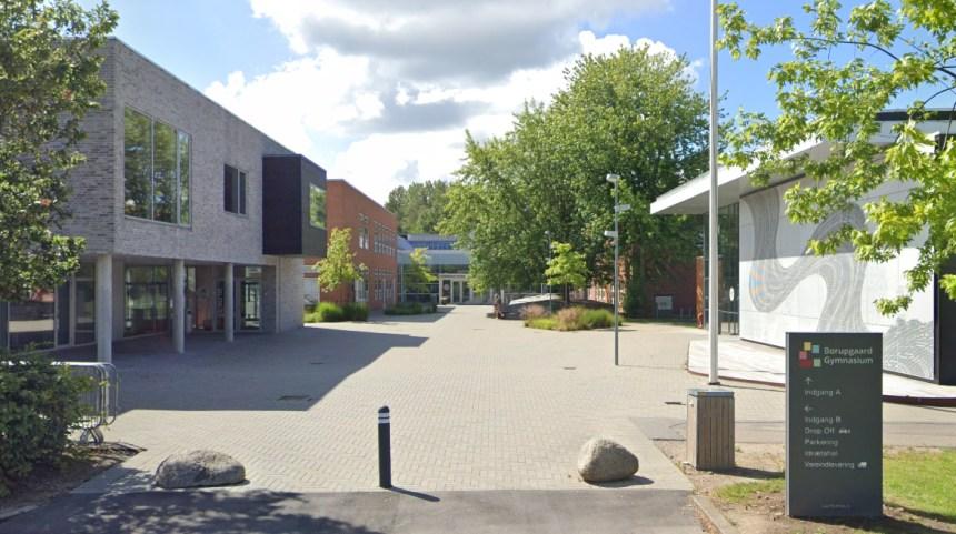 Borupgaard Gymnasium.