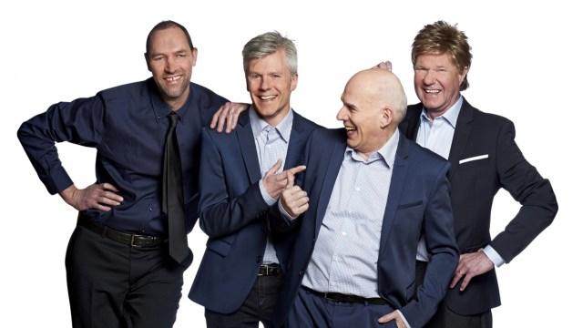 Lørdag giver Klaus & Servants gratis mini-koncerter flere steder på Sjælland. PRfoto.