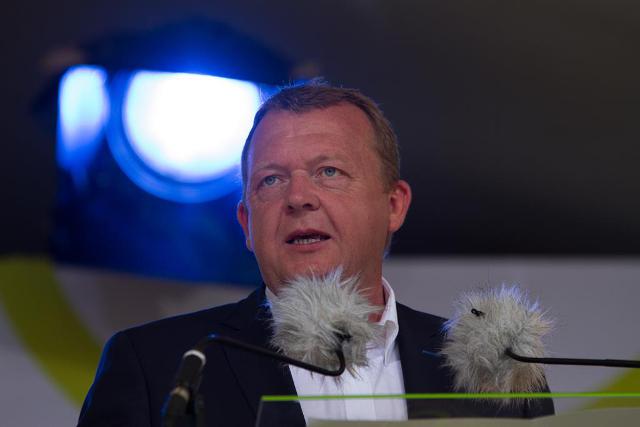 Venstres formand Lars Løkke Rasmussen får knapt 1,2 millioner kroner i løn som partiformand. Foto: Michael Johannessen.