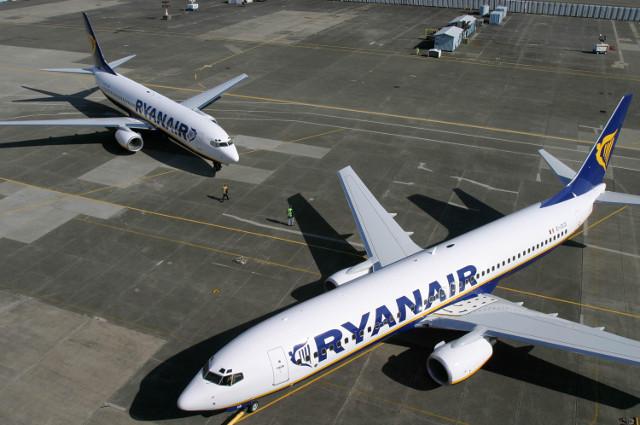 Det irske luftfartselskab Ryanair tabte i dag i Arbejdsretten. Foto: Ryanair.