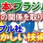 【仮想通貨】日本×ブラジル両国の関係を取り持つリップル社の輝かしい技術!!!