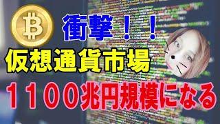 【仮想通貨】1100兆円規模になる!ナスダックとVanEck社正式に提携