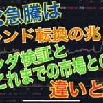 仮想通貨:今回の急騰はトレンド転換の兆し!? これまでの市場との違いやファンダを検証!【暗号資産】