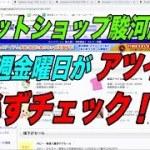 【転売初心者】ネットショップ駿河屋!金曜日はチェック!!