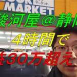 【中古せどり】駿河屋店舗仕入れ@静岡 4時間で30万利益超え!!
