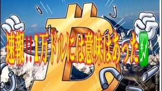 【仮想通貨】リップル最新情報❗️速報‼️ビットコイン1万ドルには意味があった💹