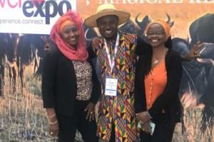 'Unfazed' Abeiku Santana attends Magical Kenya Travel Expo -Photos