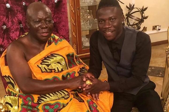Stonebwoy meets Otumfuo