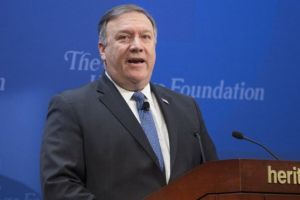 US imposing 'strongest sanctions in history' on Iran - Pompeo