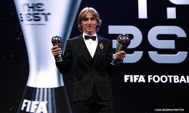 Luka Modric beats Ronaldo, Salah to win 'The Best' award