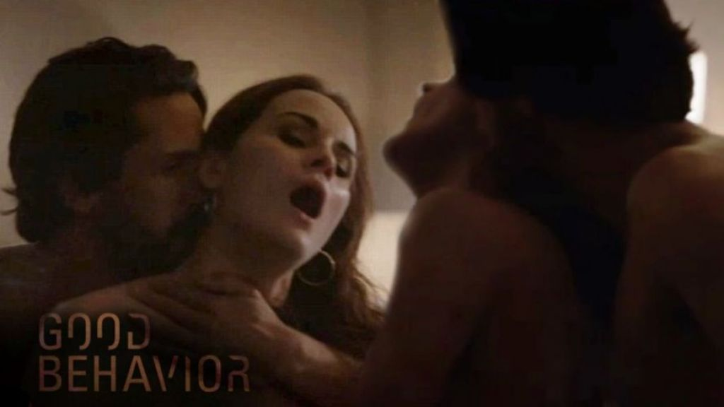 The wildest sex scene in years featured in'Good Behavior' movie