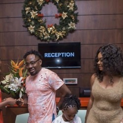 Choirmaster visits Accra Marriott Hotel