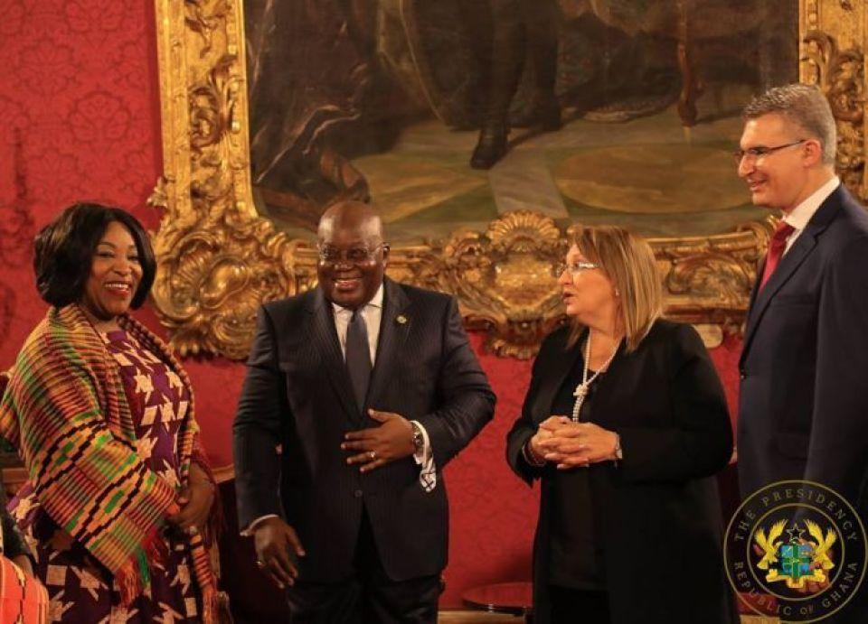 Ghana and Malta
