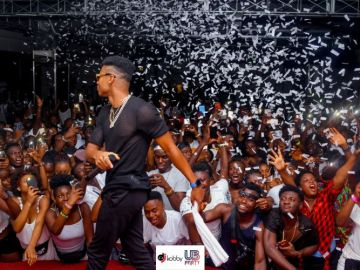 Kidi, DJ Vyrusky and Fameye Thrill Fans In Italy