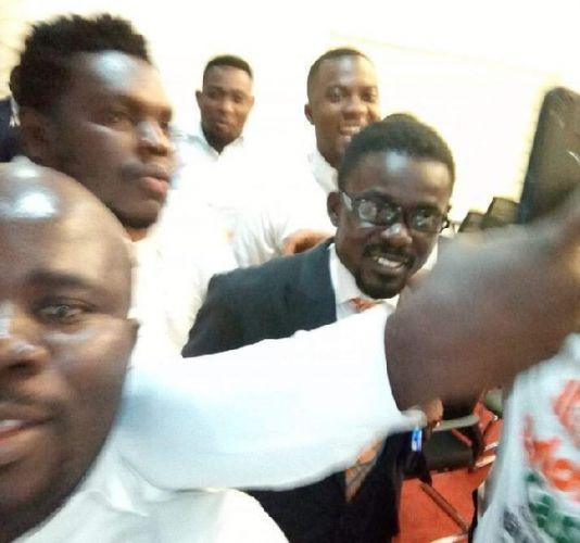 Menzgold CEO, Nana Appiah Mensah, arrives in Ghana