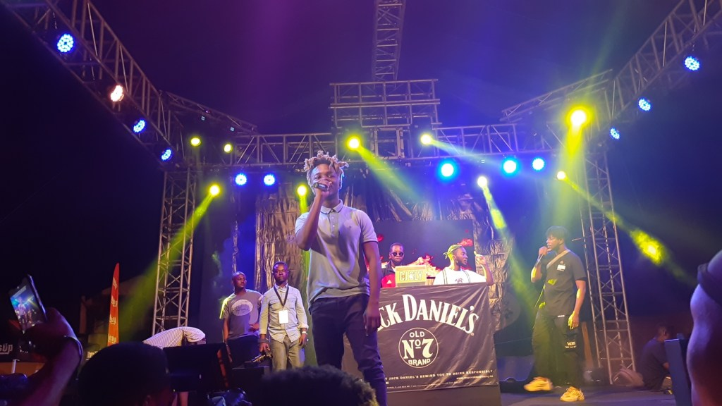 Wendy Shay & Kuami Eugene Rock the Streets of Accra