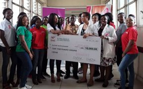 Ernest Chemists supports Korle Bu Breast Unit with GH¢10,000